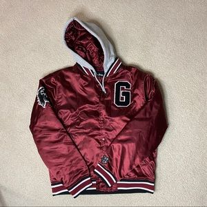 Hot Topic Harry Potter Gryffindor Coaches Jacket